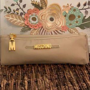 Vintage Moschino makeup bag